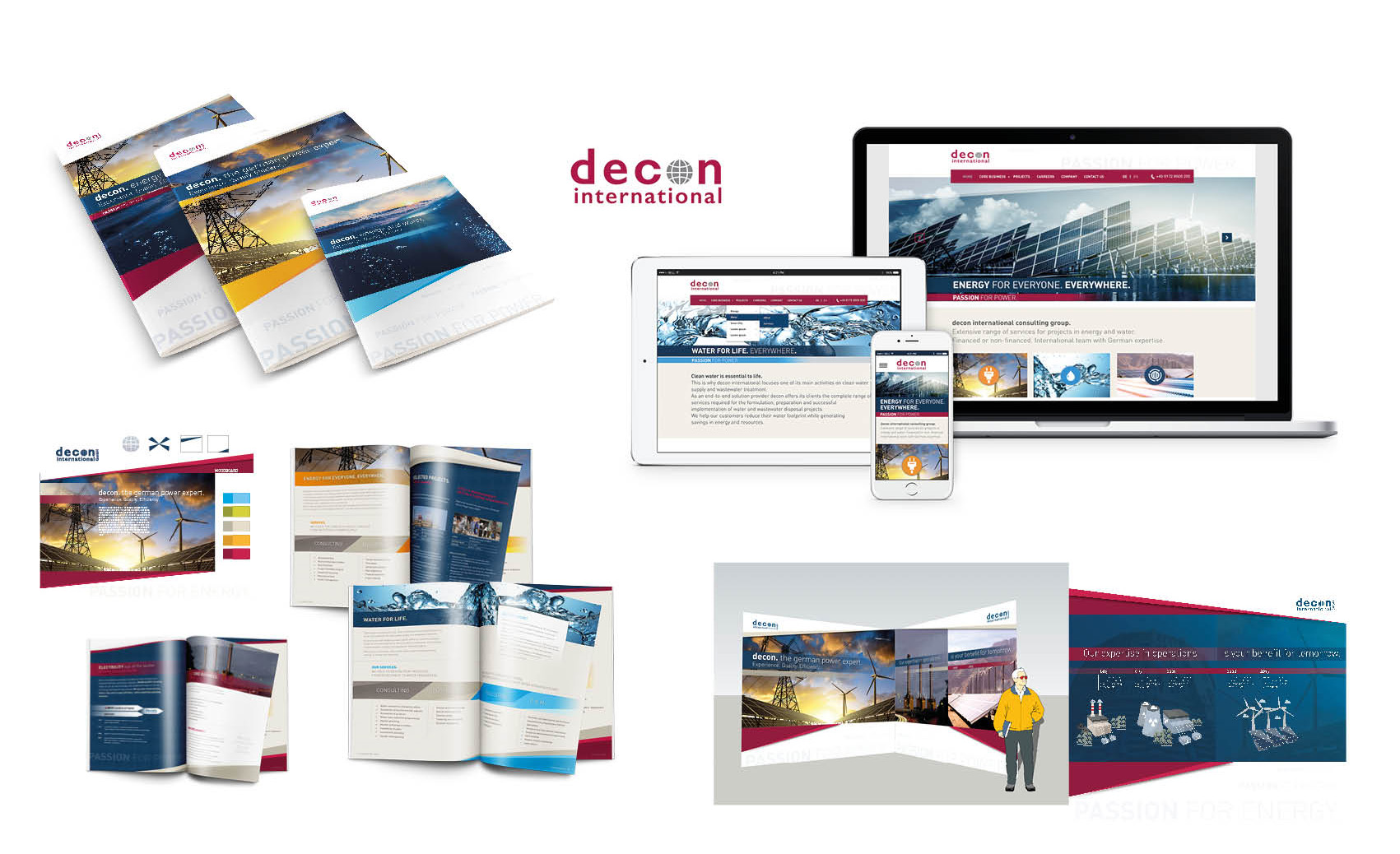 decon international - Brand Identity Design
